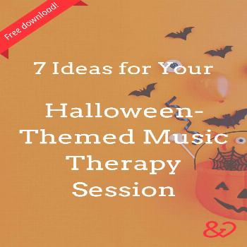 7 Ideas for Your Halloween-Themed Music Therapy Session Looking for Halloween ideas for your Octobe