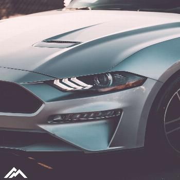 A Ford Mustang with a Mean Side-Eye
