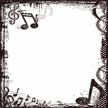 Grunge Music Frame by x-nerd on DeviantArt My friend Kevin asked for a frame for some project incor