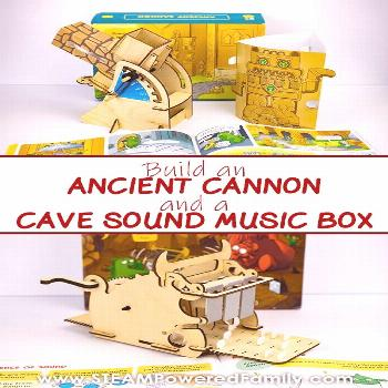 Learn how to build a Cannon and Music Box with your Kids Learn how to build an Ancient Cannon and a