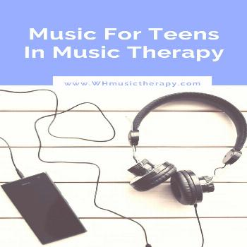 Music For Teens in Music Therapy  Learn what music to use in your music therapy sessions and classe