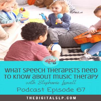What Speech Therapists Need to Know About Music Therapy Music is a great way to promote speech and