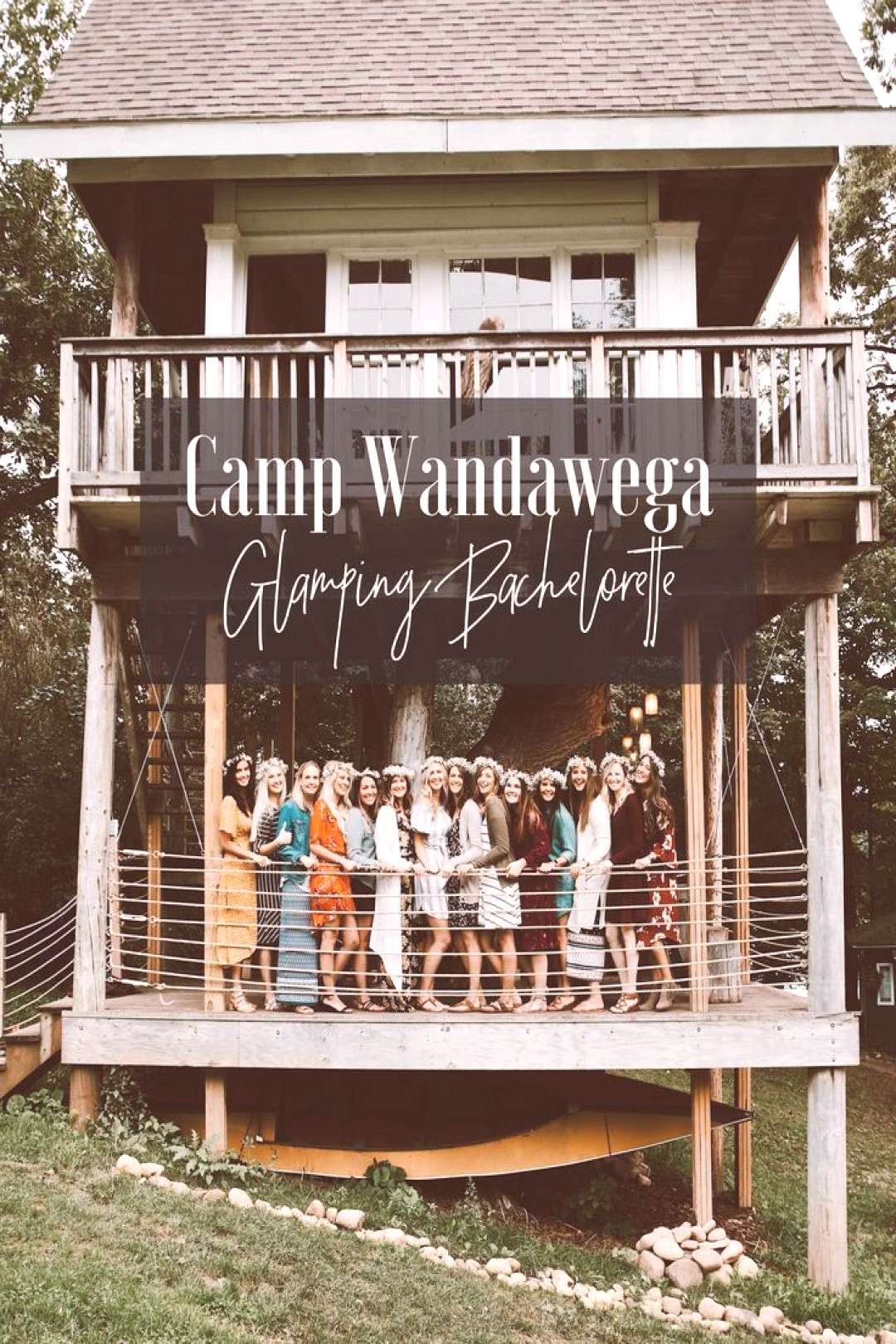 Glamping Bachelorette Party at Camp Wandawega  Camping has reinvented itself and is now more desi