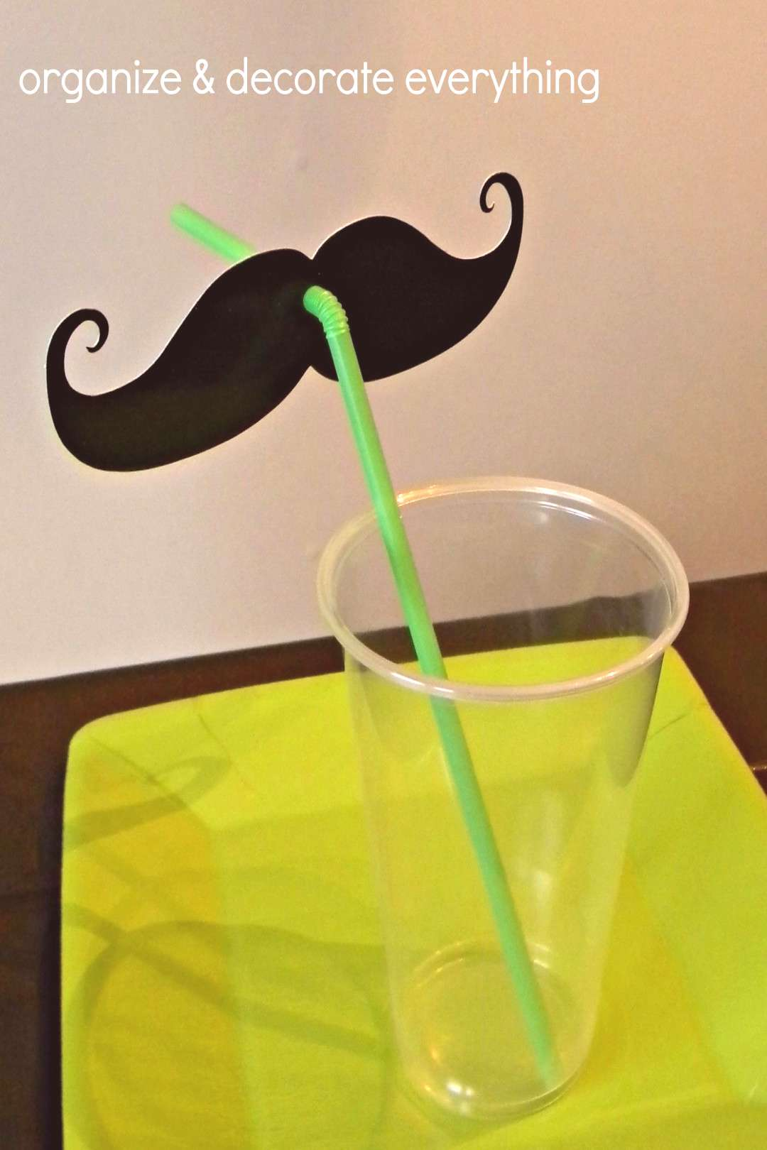 Mustache Party Ideas   Simple Mustache Party Ideas - Organize and Decorate Everything