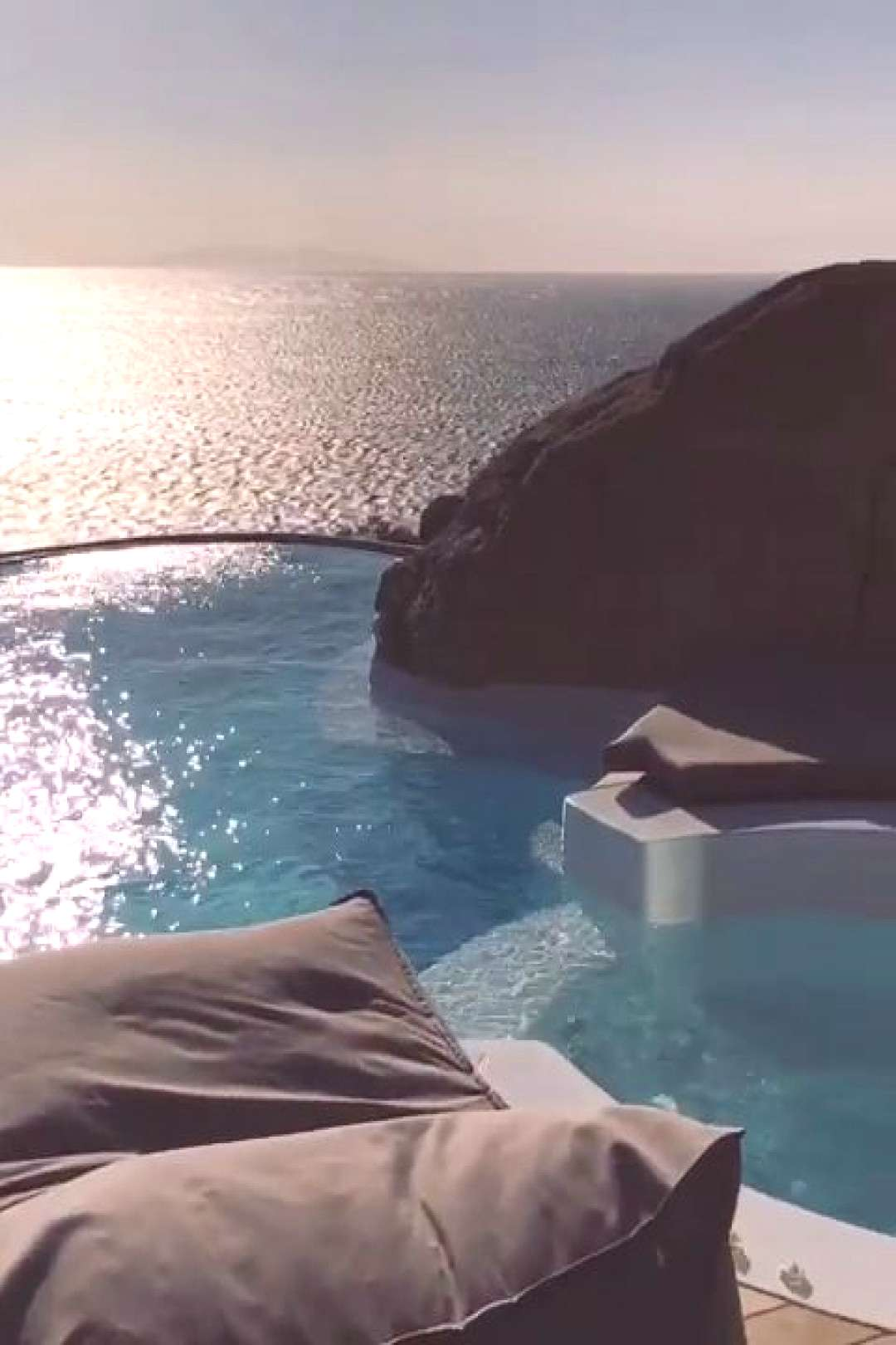mykonos Luxury Cave Hotel in Mykonos, Greece - The Perfect Couples Getaway! Located in the Aegean S